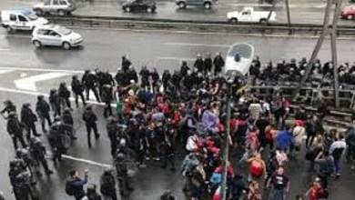 Photo of Autopista 25 de Mayo: la Policía desalojó a manifestantes que cortaban ambos carriles