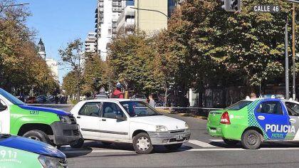 Tiros y pánico en La Plata por un robo que terminó con un muerto