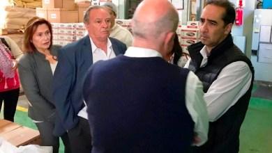 Photo of Tagliaferro recorrió la empresa familiar Dulkré