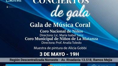 Photo of El Coro Nacional de Niños y el Coro Municipal de Niños de La Matanza, juntos