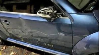Photo of Ataque de furia: vecino destrozó auto mal estacionado