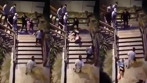Patovica tiró por las escaleras a una piba y le provocó una fractura expuesta