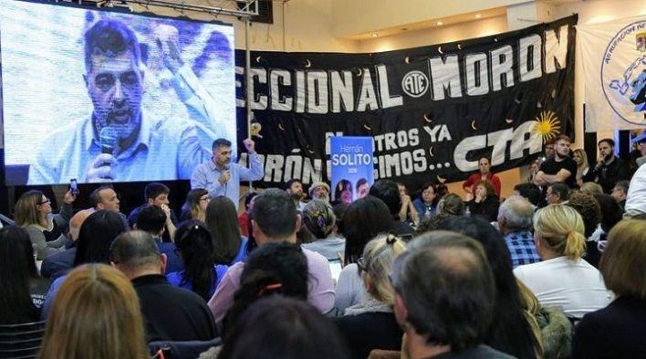 Morón | Hernán Solito oficializó su intención de competir en las PASO
