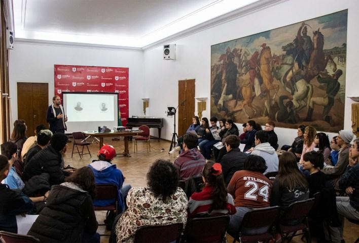 """Con la presencia de Tagliaferro, cinco nuevas escuelas participaron del ciclo """"Orientá tu futuro"""""""