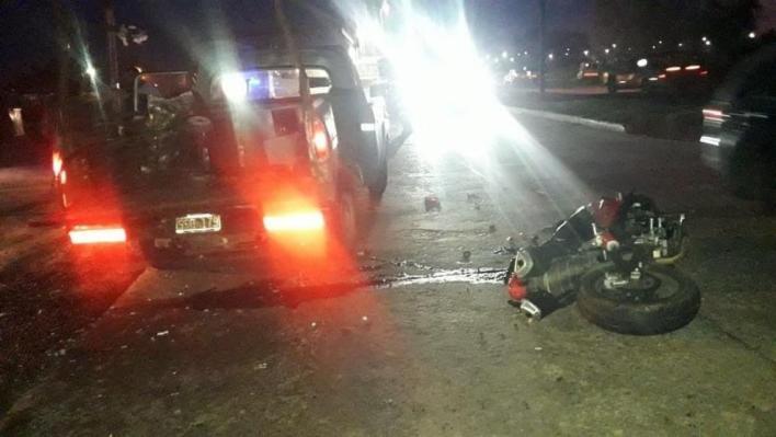 Murió un hombre que viajaba en moto en un accidente cerca de La Plata
