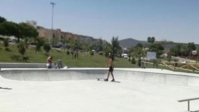 Photo of Morón estrena su nueva pista de patinaje en el parque de Los Cipreses tras invertir 60.000 euros