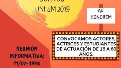 "Photo of Convocatoria para el casting de ""Cortos UNLaM 2019"""