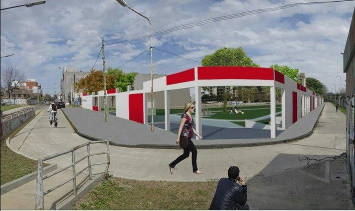 Morón: construirán un parque recreativo cerca del Centro