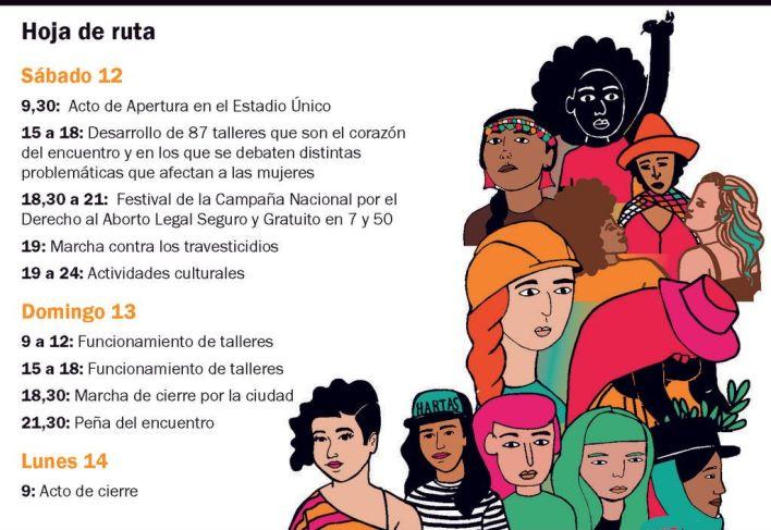 La Ciudad y un Encuentro de Mujeres que hará historia