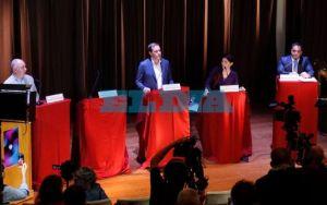 Debate a intendente de La Plata: fueron cuatro candidatos