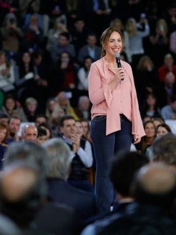 """María Eugenia Vidal: """"Si pierdo las elecciones buscaré trabajo y me mudaré"""""""