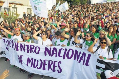 Santiago del Estero, en el Encuentro de Mujeres en La Plata