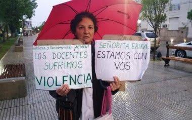 Trasladaron a La Plata a la docente que sufrió un ACV tras discutir con el papá de un alumno