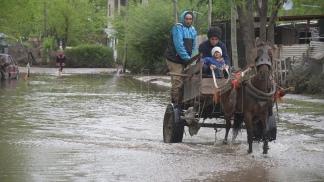 La subida del Río de la Plata demora el drenaje en las zonas inundadas