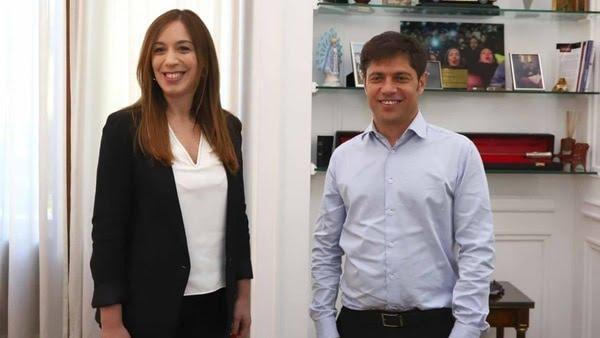 Axel Kicillof se reunió con María Eugenia Vidal por la transición en la provincia de Buenos Aires y le pidió que retrotraiga el aumento en las tarifas de luz