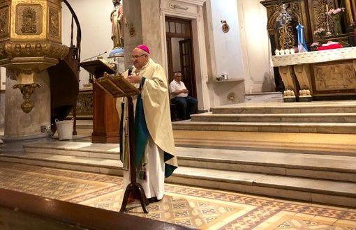 El Obispo Vázquez reunió a todo el arco político de Morón y convocó a vivir «sin ningún tipo de grieta»