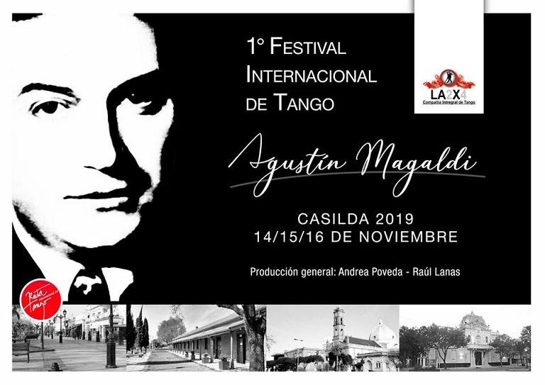 1° Festival Internacional de Tango en la ciudad de Casilda