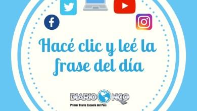Photo of Frase del día martes 19-11-2019
