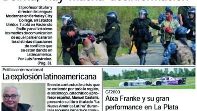 Photo of #BuenMartes Leé la edición impresa de Diario NCO del 19-11-2019
