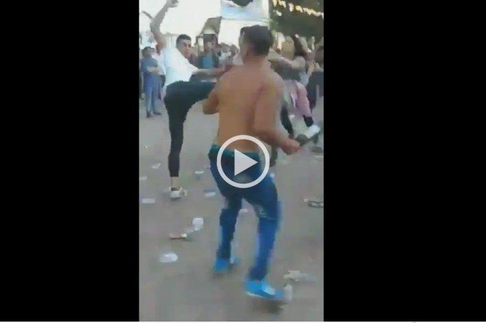 Brutal pelea en la Facultad de Trabajo Social de La Plata