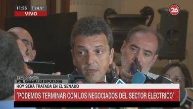 Photo of Sergio Massa se refirió a la media sanción a la Emergencia Económica