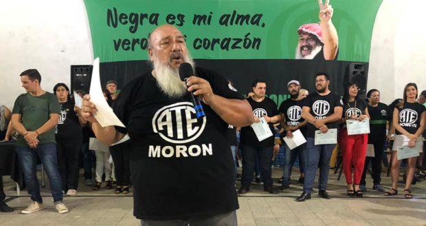 ATE Morón: Silva despidió el año con la promesa de que habrá «reincorporaciones»