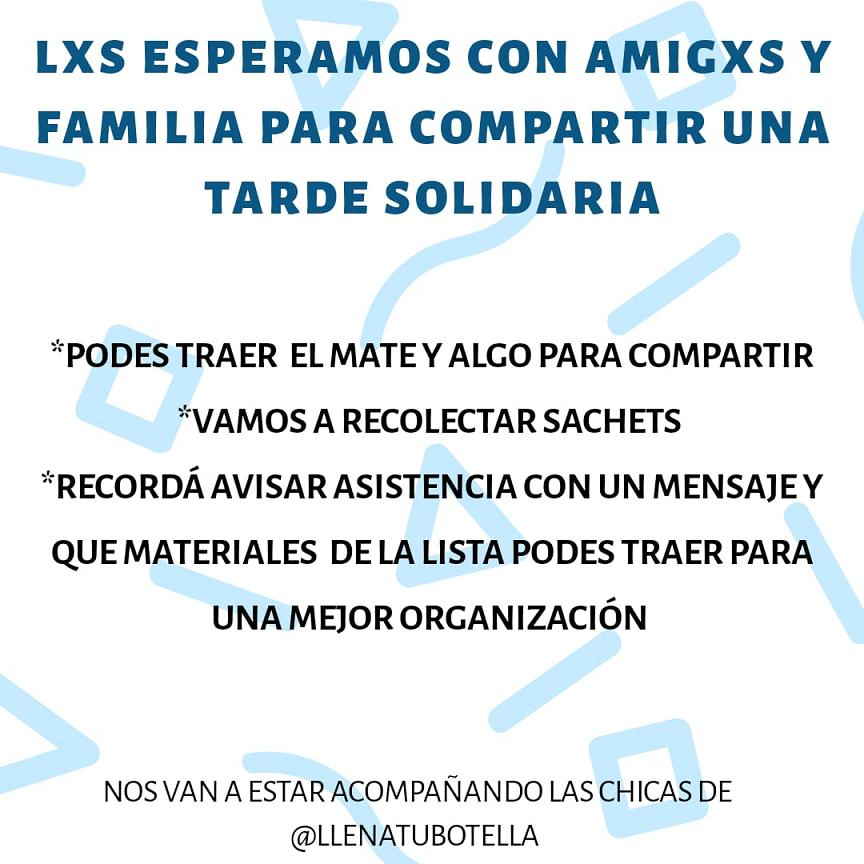 Evento de Calles Sacheteras: este sábado habrá una jornada solidaria en Haedo