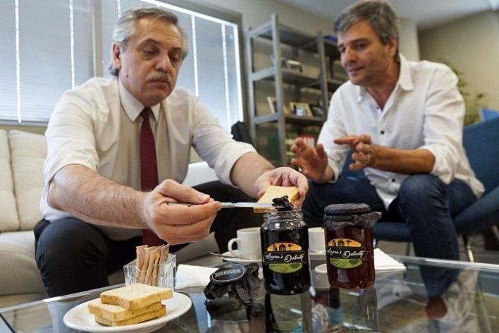 Alberto Fernández y un fuerte apoyo a la producción regional