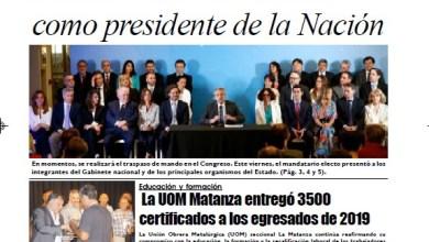 Photo of #Buen Martes Leé la edición impresa de Diario NCO del 10-12-2019