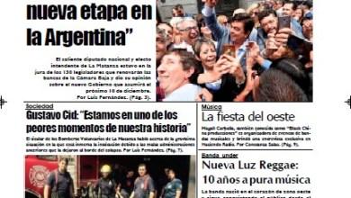 Photo of #Buen Viernes Leé la edición impresa de Diario NCO del 06-12-2019