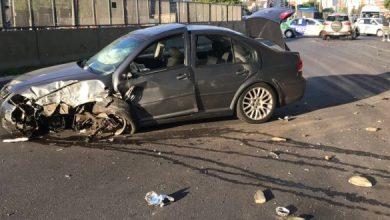 Photo of Fuerte choque entre dos vehículos sobre Segunda Rivadavia, en Ramos Mejía: No hubo heridos de gravedad