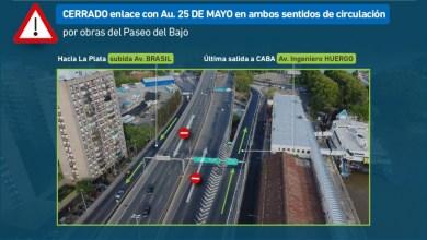 Photo of Por obras programadas, estará cerrado el enlace Autopista Buenos Aires La Plata- 25 de Mayo