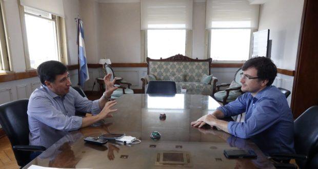 Ghi se reunió con Arroyo por la Tarjeta Alimentaria: Estiman que el programa volcará $33 millones al consumo en Morón