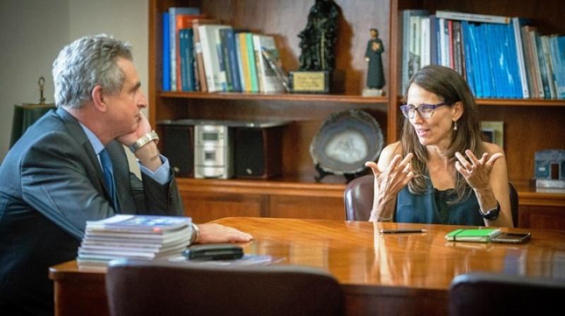 Rossi prepara la implementación de la Ley Micaela en el Ministerio de Defensa