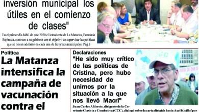 Photo of #Buen Lunes Leé la edición impresa de Diario NCO del 06-01-2020