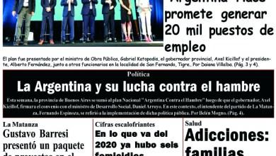 Photo of #Buen Lunes Leé la edición impresa de Diario NCO del 13-01-2020