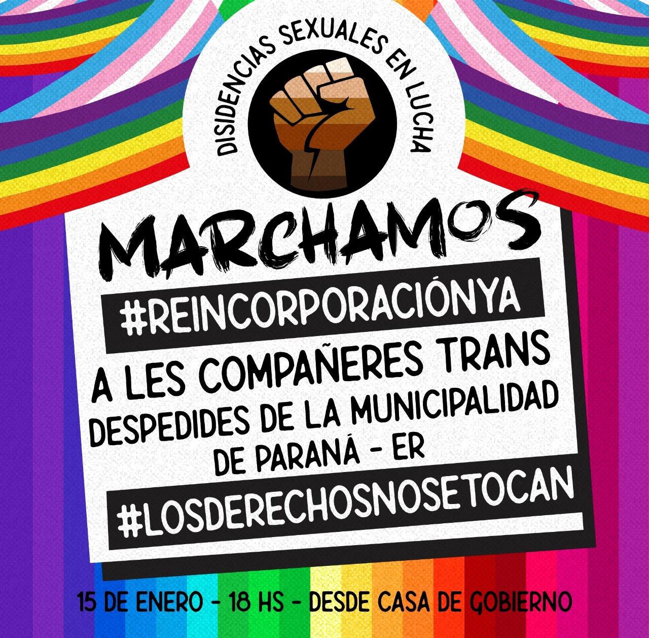 Transfobia municipal en Paraná
