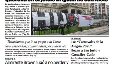 Photo of #Buen Miércoles Leé la edición impresa de Diario NCO del 19-02-2020