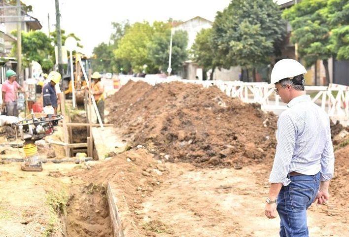 Morón   Avanza la obra de red cloacal para 13 mil viviendas del distrito