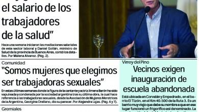 Photo of #Buen Martes Leé la edición impresa de Diario NCO del 18-02-2020