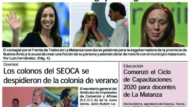 Photo of #Buen Jueves Leé la edición impresa de Diario NCO del 20-02-2020