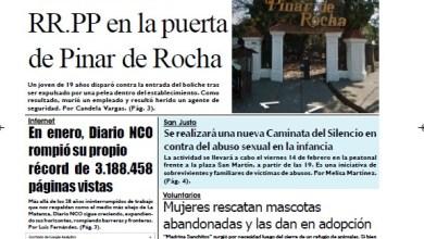 Photo of #Buen Miércoles Leé la edición impresa de Diario NCO del 12-02-2020