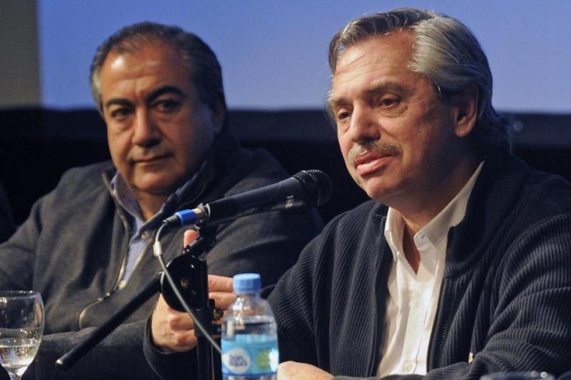 Alberto Fernández se reunió con la CGT