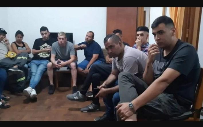 Morón: Agrupación de municipales con jóvenes