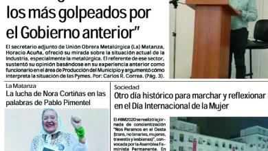 Photo of #Buen Miércoles Leé la edición impresa de Diario NCO del 11-03-2020
