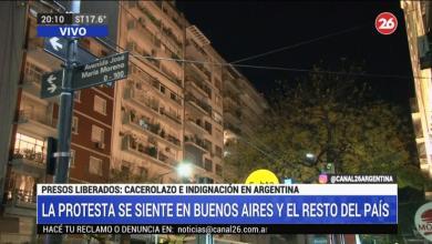 Photo of Cacerolazos y bocinazos se hicieron sentir en todo el país