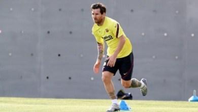 Photo of La pelota vuelve a los pies de Lionel Messi