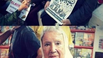 Photo of Susana Aranda cumple años en un nuevo acampe contra #Klaukol