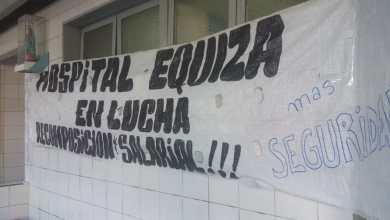 """Photo of Equiza por la lucha salarial: """"Tenemos un sueldo bajo la línea de pobreza"""""""