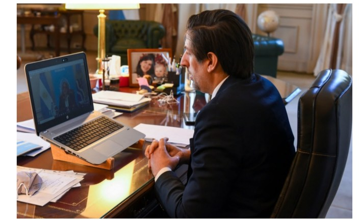 El ministro de Educación de la Nación, Nicolás Trotta, se reunió con la gobernadora de Santa Cruz